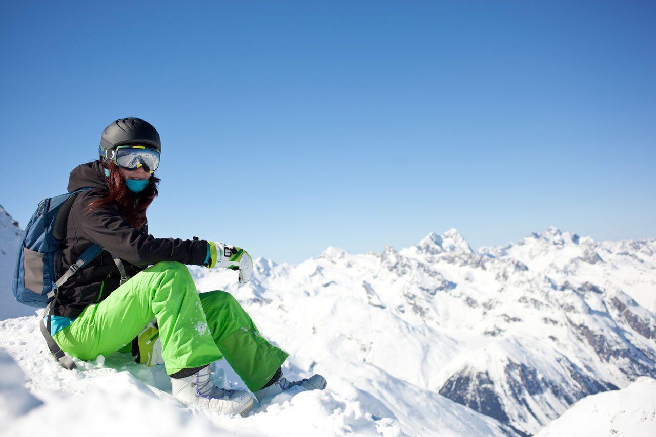Спортивная одежда для лыжников